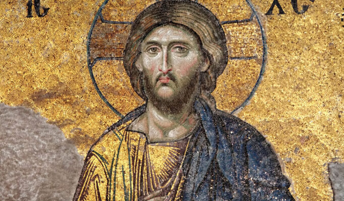 Jesus-Christ-detail-mosaic-Deesis-Hagia-Sophia